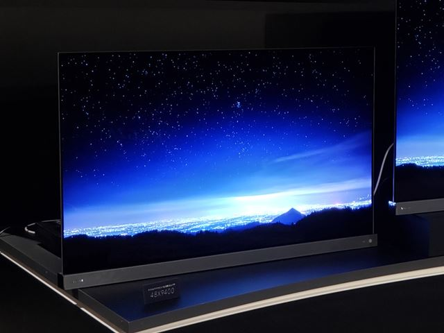4K有機ELテレビの新サイズ・48V型の登場に注目