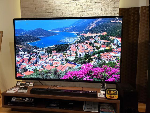 8Kテレビのメーカーはついに3社へ拡大