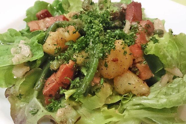リエージュ風・温製サラダ