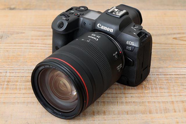 圧倒的な高性能を実現したEOS R5。2020年に登場するカメラの中で最も話題を集める製品のひとつになりそうだ