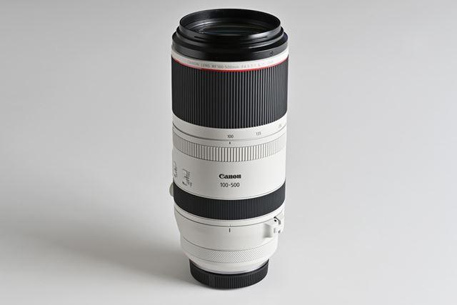 望遠端500mmと小型・軽量化を両立したRF100-500mm F4.5-7.1 L IS USM