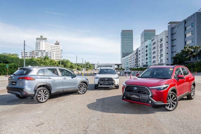 2020年7月9日にタイで世界初公開され、同日から販売が開始されたトヨタ「カローラクロス」