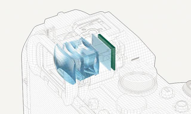 業界最高解像度という約944万ドットのEVFを搭載。その解像度は「α7R IV」の約1.6倍