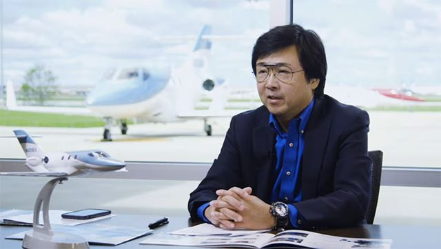 「HondaJet」の設計・開発責任者である藤野道格氏