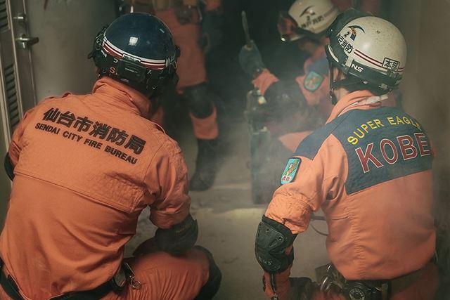 大震災での救助活動を経験してきた神戸市消防局と仙台市消防局の隊員