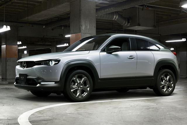 マツダ初のEV、「MX-30 EV MODEL」。航続距離は256km、価格は451万円から