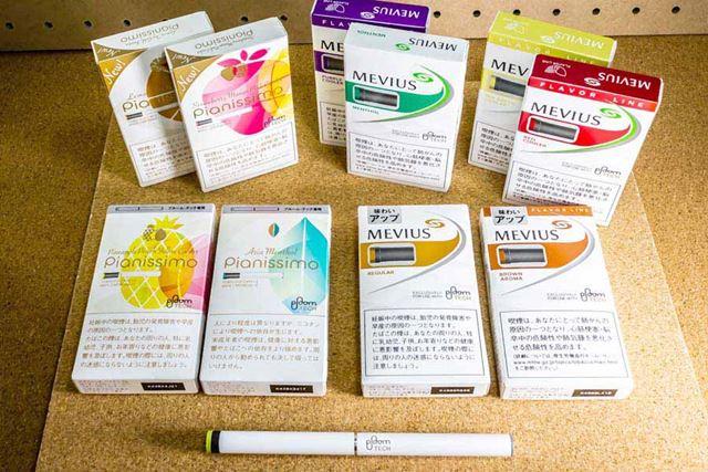 満充電から、たばこスティック約10本を連続して吸うことができる