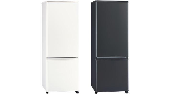"""Nhiệt độ của ngăn mát tủ lạnh là khoảng 0 đến 6 ° C, nhưng một hộp nhiệt độ thấp với dải nhiệt độ khoảng -2 đến 4 ° C được lắp ở dưới cùng của ngăn tủ lạnh.  Do bàn trên cùng kéo dài đến tận đầu cửa nên không gian trên nóc tủ lạnh cũng lớn.  Cấu trúc cơ bản giống như MR-P17E, và """"MR-P15F"""" (với dung tích lưu trữ là 146L), có chiều cao thấp hơn 12,5 cm, cũng có sẵn."""