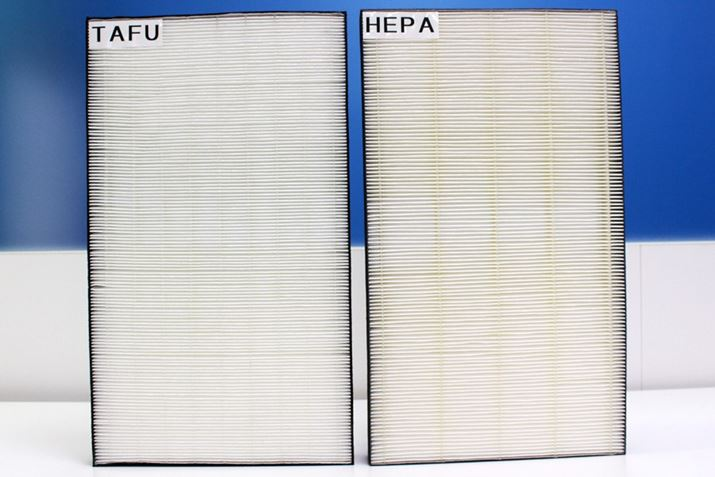 Bộ lọc HEPA và bộ lọc TAFU