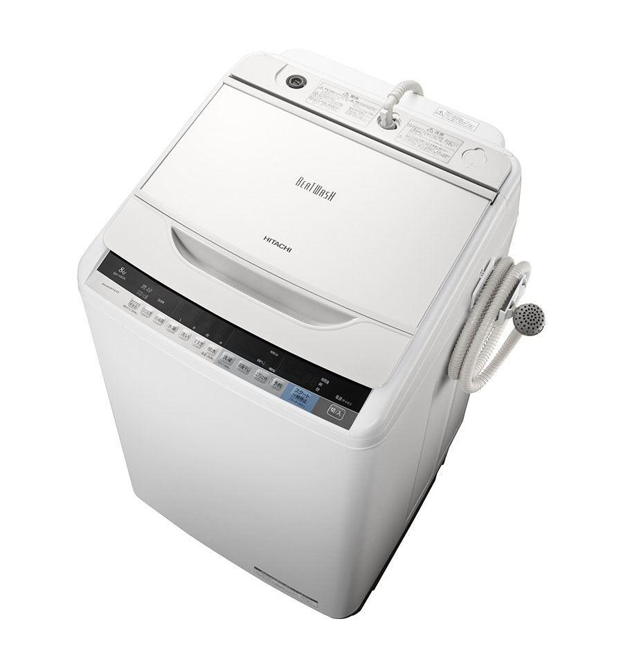 最新縦型洗濯機対決! 日立「ビートウォッシュ BW-V80A」VS パナ ...