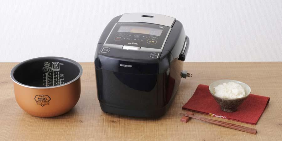 アイリスオーヤマ「銘柄量り炊き KRC-IC50(5.5合モデル)」