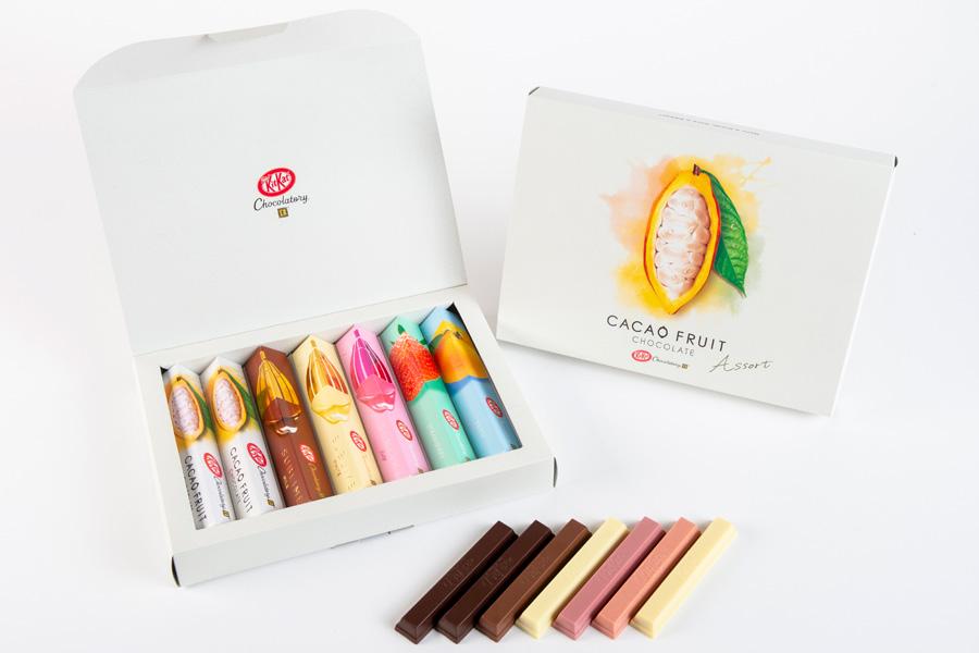 ネスレ日本「キットカット ショコラトリー カカオフルーツチョコレート アソート 7本」