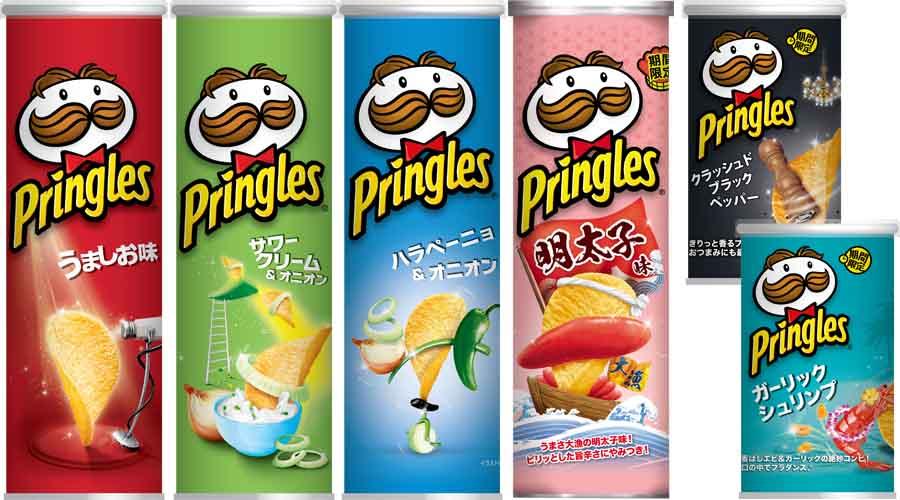 日本ケロッグ「プリングルズ 6缶セット」