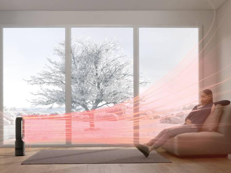冬はより早く、均一に部屋を暖める