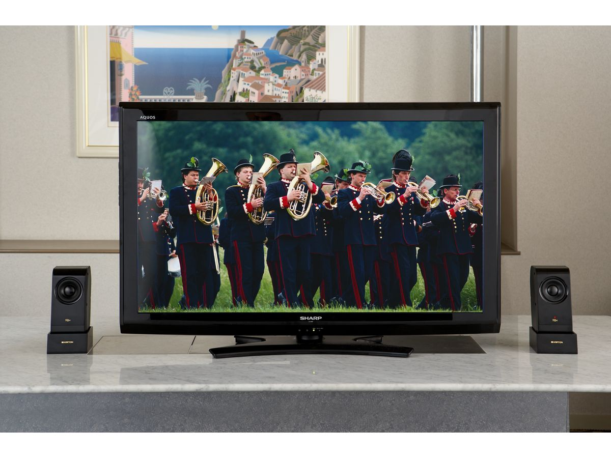 TV(40inch)との組み合わせイメージ
