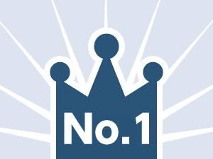 第三者機関が認めたNo.1!