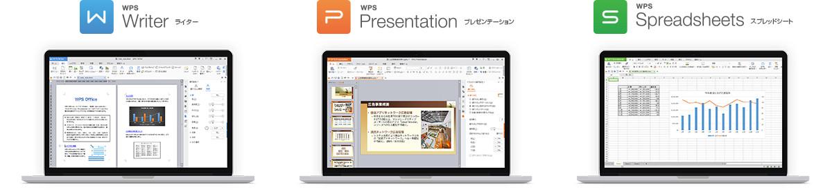 WPS Officeは、シンプルでユーザビリティにすぐれた総合Officeソフト