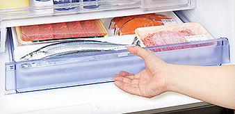 肉や魚の専用ルーム「氷点下ストッカーD」