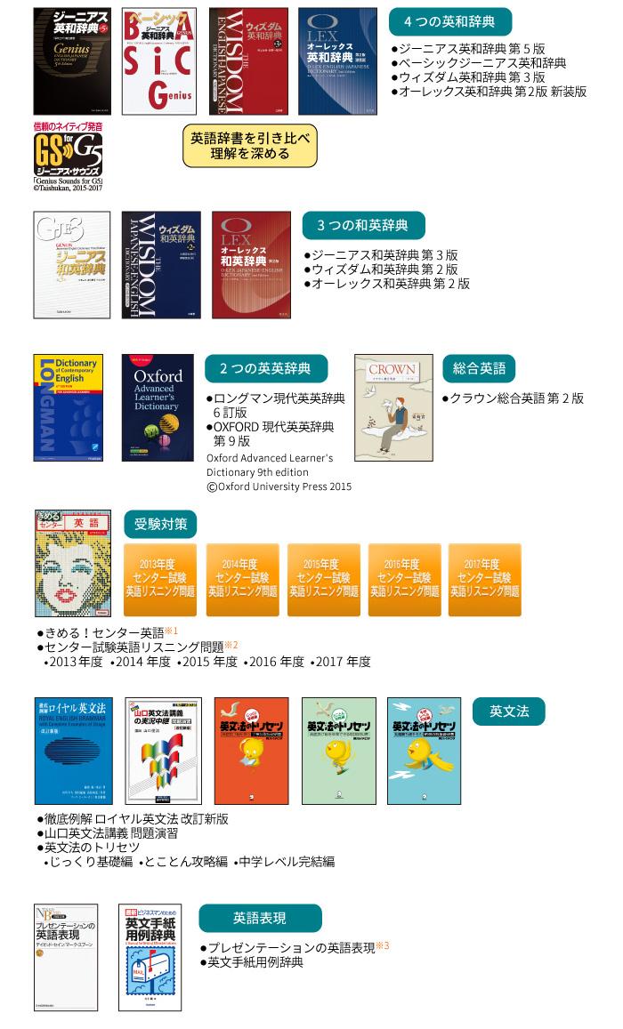 6教科対応。学校推薦や人気の辞書・学習書