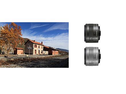 レンズ交換で広がる、さまざまな写真表現。