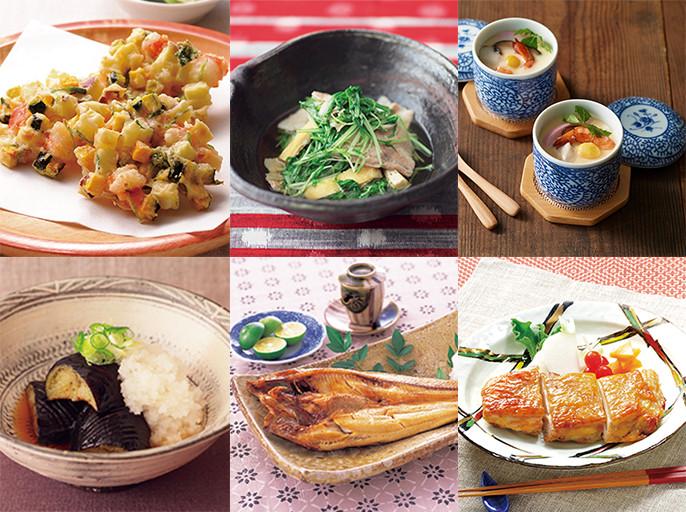 旬をおいしく味わえる50の和食定番メニューを自動で調理「和食50選」