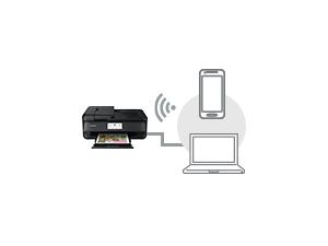 接続もかんたんな 「Wi-Fi(無線LAN)/有線LAN」対応