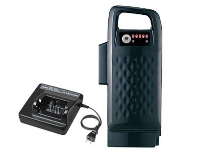 8Ahバッテリーと充電器