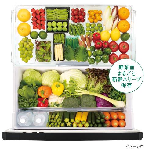 新鮮スリープ野菜室