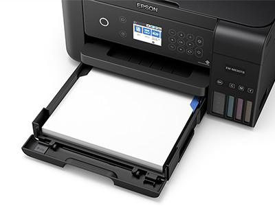 普通紙最大150枚収納可能な前面カセット給紙