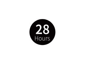 最大28時間の長時間再生