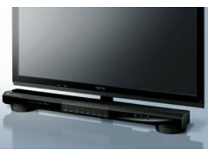 テレビの前に置くだけで簡単に設置可能なワンボディ
