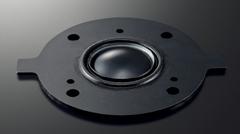 新開発3cmブラックアノダイズド・アルミツイーター