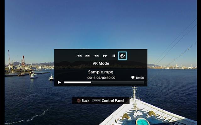 360度動画/写真コンテンツも楽しめる!
