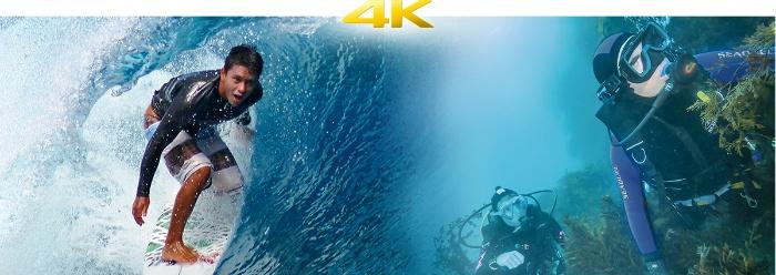 高精細な4K 30p撮影に対応