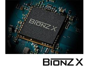 見たままの質感や高精細感を実現する「BIONZ X(TM)(ビオンズエックス)」