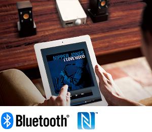 Bluetooth®/NFC対応、快適ワイヤレスリスニング。