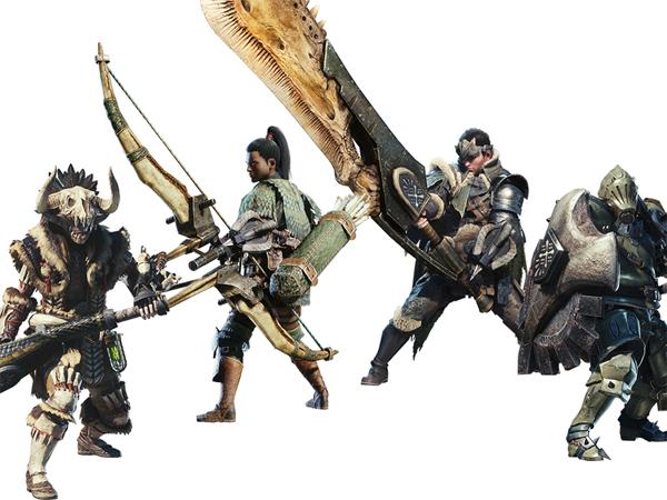 多彩な武器や装備、そして頼れるパートナー
