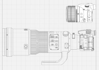 24-600mm大口径高倍率ズームレンズと進化した画像処理エンジン