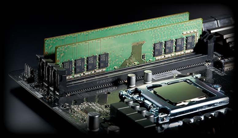 DDR4-2666メモリ16GB搭載で抜群の処理能力