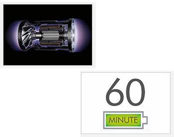 【特長1】ダイソン デジタルモーター V10/最長60分の運転時間