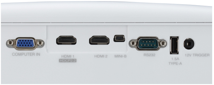 4K信号にフル対応した18Gbps&HDCP2.2対応のHDMI端子を搭載*