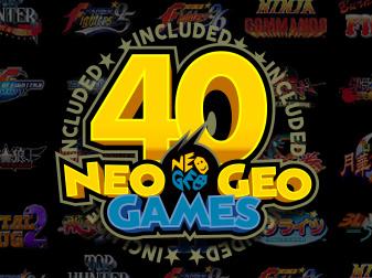 NEOGEOの名作・傑作タイトルを40作品収録!