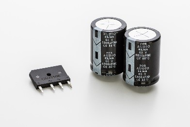 新開発カスタムブロックコンデンサー&ダイオード