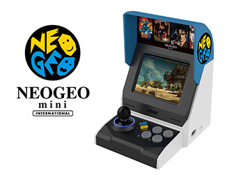 NEOGEO mini INTERNATIONAL Ver.も登場!
