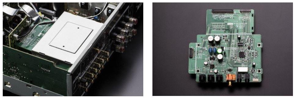 PCM 192 kHz / 24 bit対応デジタル入力