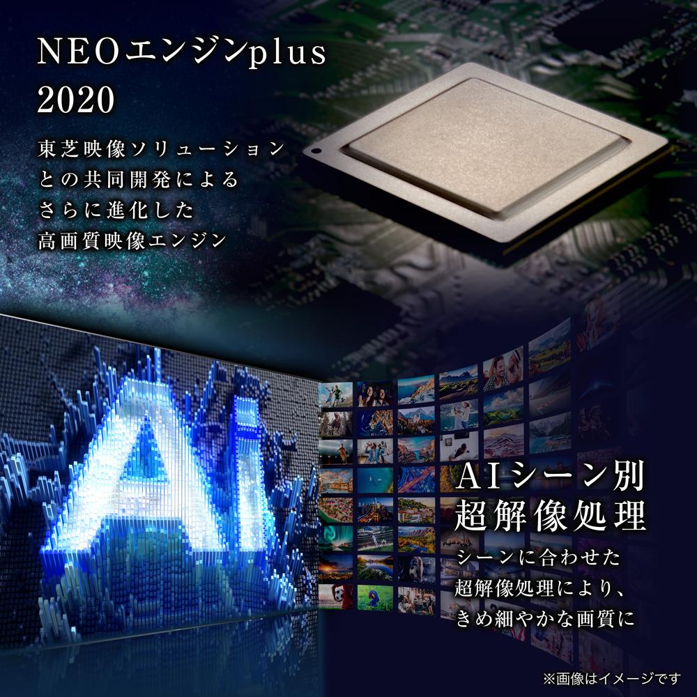NEOエンジンplus 2020、AIシーン別超解像処理