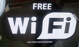 Free-Wifiステッカー