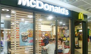 イギリスのマクドナルド