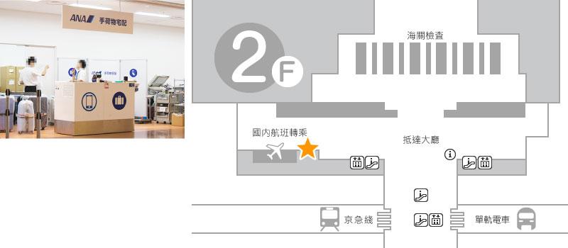入境大廳 2樓 Mobile Center 羽田