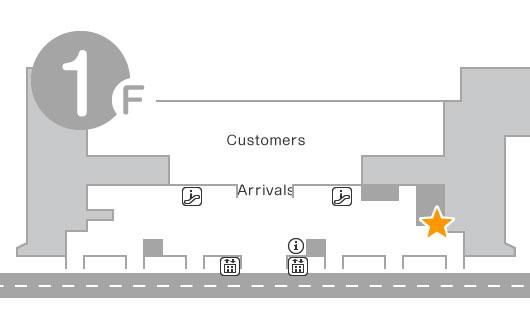 International Terminal 1F XCOM Global Counter